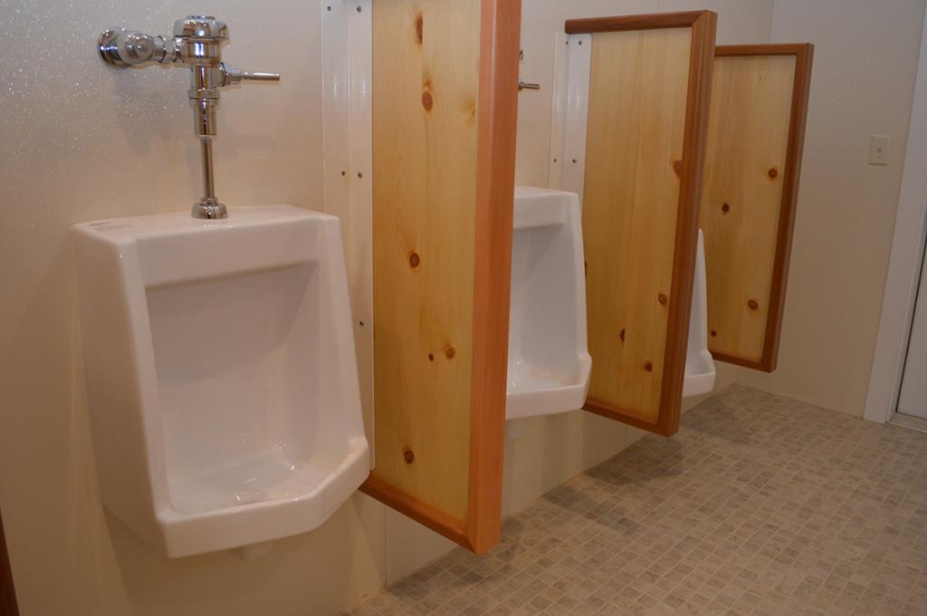 Custom Bathroom Dividers